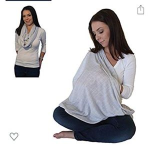 Nursing cover up infinity scarf